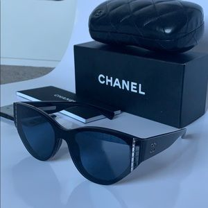 Chanel sunglasses and case authentic